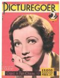 Claudette Colbert on the cover of Picturegoer (United Kingdom) - March 1932