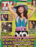 Natalia Oreiro on the cover of TV Guia (Argentina) - July 2002