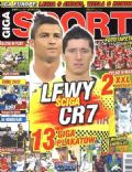 Cristiano Ronaldo on the cover of Giga Sport (Poland) - November 2011