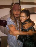 Johnny Depp and Antoinette Kalaj