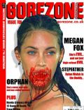 Megan Fox on the cover of Gorezone (United Kingdom) - September 2009
