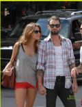 Adam Levine and Angela Bellotte