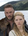 Travis Fimmel and Katheryn Winnick