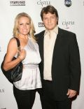 Kate Luyben and Nathan Fillion