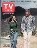 Shelley Fabares on the cover of TV Guide (United States) - April 1973