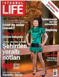 Eysan Özhim on the cover of Istanbul Life (Turkey) - January 2008