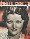 Myrna Loy on the cover of Picturegoer (United Kingdom) - April 1932