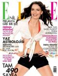 Nil Karaibrahimgil on the cover of Elle (Turkey) - June 2006
