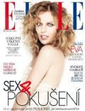 Eva Herzigova on the cover of Elle (Czech Republic) - May 2012