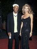 Amber Smith and Russell Simmons