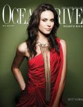 Odette Annable on the cover of Ocean Drive (Puerto Rico) - April 2009