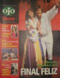Florencia Bertotti, Florencia Bertotti and Juan Navarro, Juan Navarro on the cover of Ojo Show (Peru) - October 2005