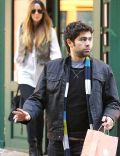 Courtney Bingham and Adrian Grenier