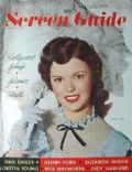 Shirley Temple on the cover of Screen Guide (United States) - February 1949