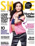 Marsha Milan Londoh on the cover of Shape (Malaysia) - April 2014