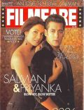 Priyanka Chopra, Priyanka Chopra and Salman Khan, Salman Khan on the cover of Filmfare (India) - January 2007
