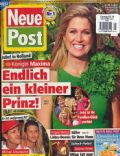 Princess Máxima of the Netherlands on the cover of Neue Post (Germany) - April 2014