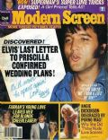Elvis Presley on the cover of Modern Screen (United States) - June 1979