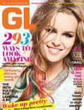 Bridgit Mendler on the cover of Girls Life (United States) - October 2012