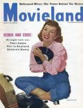 Debbie Reynolds on the cover of Movieland (United States) - July 1955