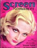 Carole Lombard on the cover of Screen Romances (United States) - April 1932