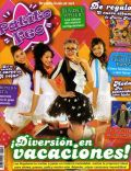 Eva De Dominici, Laura Esquivel, María Sol Berecoechea, Thelma Fardín on the cover of Patito Feo (Argentina) - July 2008