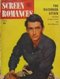 Gregory Peck on the cover of Screen Romances (United States) - January 1947