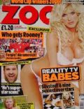 Victoria Silvstedt on the cover of Zoo (United Kingdom) - July 2004