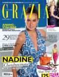 Nadine Chandrawinata on the cover of Grazia (Indonesia) - June 2011