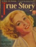 Jean Muir on the cover of True Story (United States) - July 1934