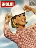 Doris Day on the cover of Hola (Spain) - November 1971