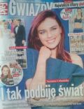 Natasza Urbanska on the cover of Gwiazdy (Poland) - June 2014
