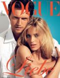 Anja Rubik, Anja Rubik and Sasha Knezevic, Sasha Knezevic on the cover of Vogue (Germany) - June 2011