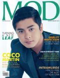 Coco Martin on the cover of Mod (Philippines) - January 2013