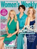 Carrie Bickmore, Jana Wendt, Leila McKinnon on the cover of Womens Weekly (Australia) - July 2012