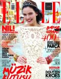 Nil Karaibrahimgil on the cover of Elle (Turkey) - May 2012