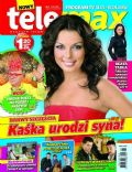 Katarzyna Glinka on the cover of Tele Max (Poland) - January 2013