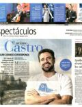 Luciano Castro on the cover of La Nacion (Argentina) - February 2012
