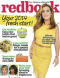 Alison Sweeney on the cover of Redbook (United States) - January 2014