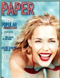 Leslie Bibb on the cover of Paper (United States) - July 2000
