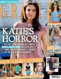 Katie Holmes on the cover of Grazia (United Kingdom) - September 2012