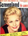 Kim Novak on the cover of Screenland (United States) - March 1957
