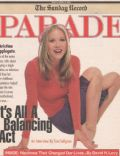 Christina Applegate on the cover of Parade (United States) - March 2001