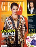 on the cover of Grazia (Indonesia) - May 2013