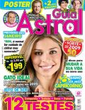 Caio Castro, Grazielli Massafera, Paulo Vilhena on the cover of Guia Astral (Brazil) - January 2009