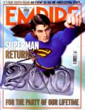 Brandon Routh, Superman Returns on the cover of Empire (United Kingdom) - February 2006