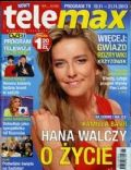 Kamilla Baar on the cover of Tele Max (Poland) - November 2013