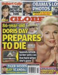 Doris Day on the cover of Globe (United States) - April 2010