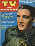 Elvis Presley on the cover of TV Star Parade (United States) - July 1958