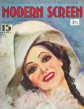 Dolores del Rio on the cover of Modern Screen (United States) - September 1934